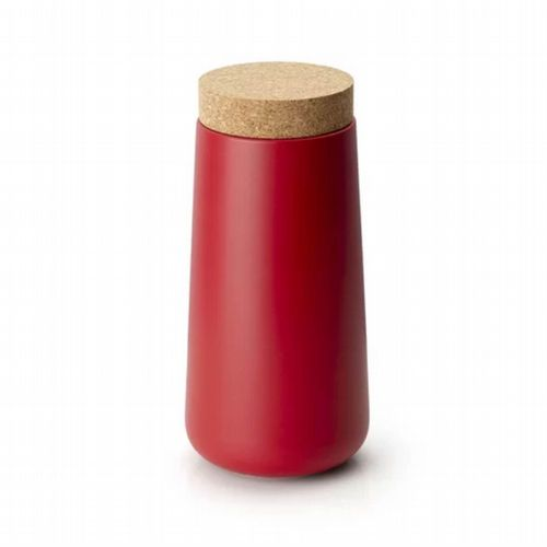 Storage Jar - Tall - Red